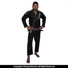 "Venum ""Elite"" Black/Yellow BJJ Gi"
